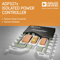 Pulse Width Modulation Controllers are integrated with iCoupler technology.
