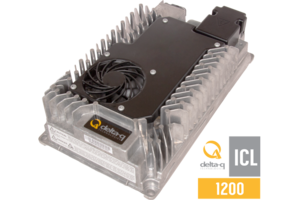ICL1200 Battery Charger comes with customizable cable design.