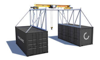 CXT Explorer Overhead Crane System is equipped with CXT Hoist workhorse.