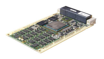 SBC367D 3U OpenVPX Single Board Computer supports 10/40 Gigabyte Ethernet.