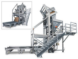 Bulk Container Dumper Design Reduces Changeover Times and Improves Product Safety; Process-specific Chassis Enables Stable, 16-foot Lift and Unload Cycles of 2,500-pound Loads