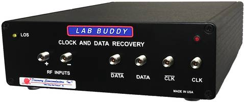 25G Clock and Data Recovery Lab Buddy offers LOS and LOSL indicators.