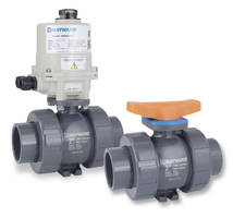 TBH Series Industrial Ball Valves feature double O-ring stem seals.