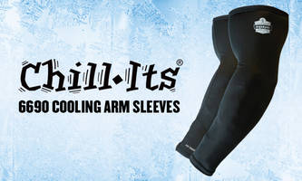 Chill-Its® 6690 Cooling Arm Sleeves offer UPF 50+ protection.