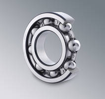 C&U Americas Versatile Single Row Deep Groove Ball Bearings Yield High Speed Capabilities and Low Torque Under Radial and Axial Loads