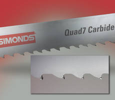 QUAD 7 feature positive rake angle four-tooth pattern.