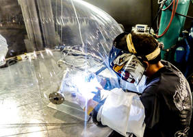 Flexible Welding Enclosure® for Welding Titanium and Nickel Alloy