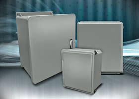 AutomationDirect Offers Additional Fiberglass Enclosures