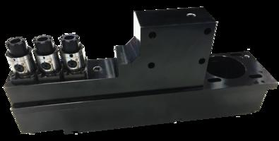 NanoFix® Quick Change System uses Torx locking mechanism.