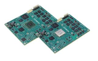 T Series COM Express Modules feature dual-threaded e6500 core.