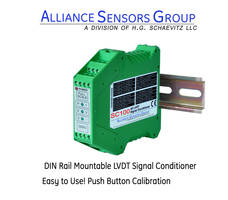 SC-100 Signal Conditioners are self-diagnostic to LVDT winding failures.