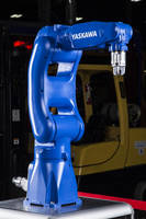 GP-Series Robots feature small footprint and slim arm design.