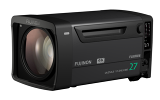 FUJINON 4K-compatible Studio Zoom Lens feature 16-bit encoders.