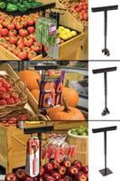 Cross-Merchandise on Fresh Area Fixtures with New Metal Merchandisers