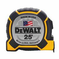 XP™ Tape Measure features three-rivet fastened hook connection.