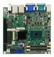 MB-83090 Mini-ITX Motherboard features serial port support and graphics capabilities.