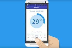 SMOQ Monitoring System can be accessed through Android Smartphones.