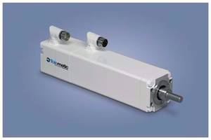 IMA Actuators feature hollow rotor design.