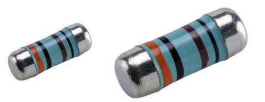 WRM-HP Metal Film MELF Resistors feature lacquer coating.