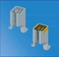 Female Quick-Fit Terminals feature stable tri-leg design.