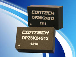 DPZ Series of DC/DC Converters are housed in UL94V-0 rated plastic case.