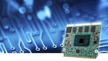 EmQ-i2401 Qseven Module features 24bit LVDS default interface.