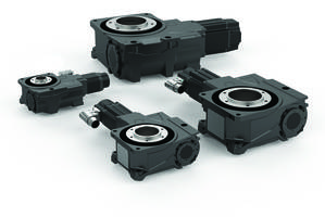 Servo Positioning Rotary Tables feature roller-gear drive.