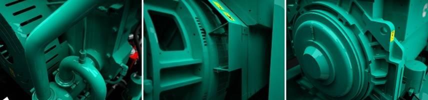 QSK60 Series Natural Gas Generators deliver up to 43.8 percent efficiency.