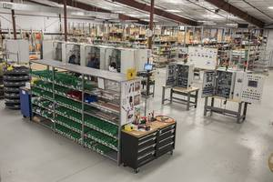 Hotset America Utilizes Advanced Control Products for Plastic Injection Machine Cabinet Builds