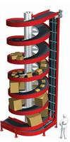 Wide Trak Spirals Conveyor features 30 in. wide slats.