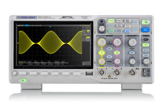 SDS1202X-E Digital Oscilloscope can record up to 80,000 frames of waveforms.