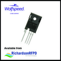 C3M0075120K SiC Power MOSFET provides 58 pF output capacitance.