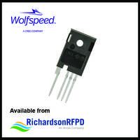 C3M0075120K SiC Power MOSFET provides 58 pF output capacitance.