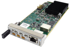AMC005 Time and Frequency Module supports Synchronous Ethernet.