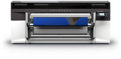Océ Colorado 1640 Printer features disruptive UVgel Technology.