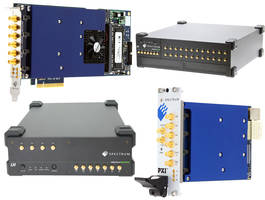 22xx Series Digitizers characterize event to nsec and sub-nsec timing ranges.