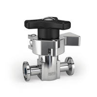 ASEPCO Diaphragm™ Valves are equipped with high-end actuators.