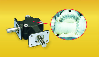 Lifetime Lubrication Ensures Smooth Operating Zero-Max Right Angle Gear Drives - They Feature Class 10 Spiral Bevel Gears