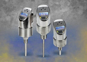 ETS Series Temperature Sensors feature built-in 4-digit display.