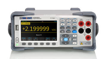 SDM3065X Digital Multimeter features 1GB of flash memory.