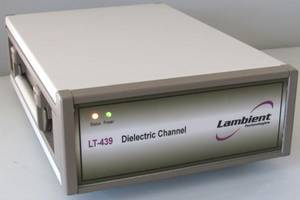 LT-439 Dielectric Channel comes with optional CureView.NET software.