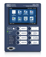 SEL-751 Feeder Protection Relays offer easy monitoring and controlling option.