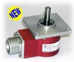 QDH20 Optical Encoder comes with flange and servo mount options.