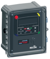 RECON2000T Control Panel allows remote pump control and monitoring.