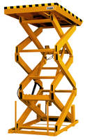 Extended Vertical Travel Scissor Lift Table