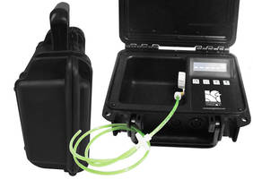 On-Site Weld Purge Monitor® for the Petrochemical Industry