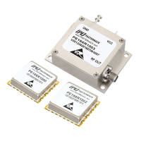 Reference Oscillators feature phase noise as low as -150dBc/Hz.