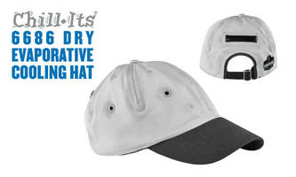 Chill-Its® Evaporative Cooling Hats are machine-washable.