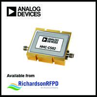 HMC-C582 Power Amplifier offers gain flatness of ±1.5 dB.