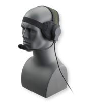 OTTO 20 Meter Diver Headset comes with boom microphone.